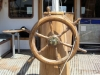 Akacia Boat, Traditional Wooden Steering Wheel